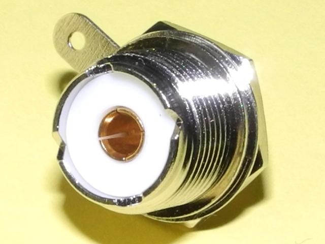 10個パックM型丸座レセプタクル テフロン絶縁体