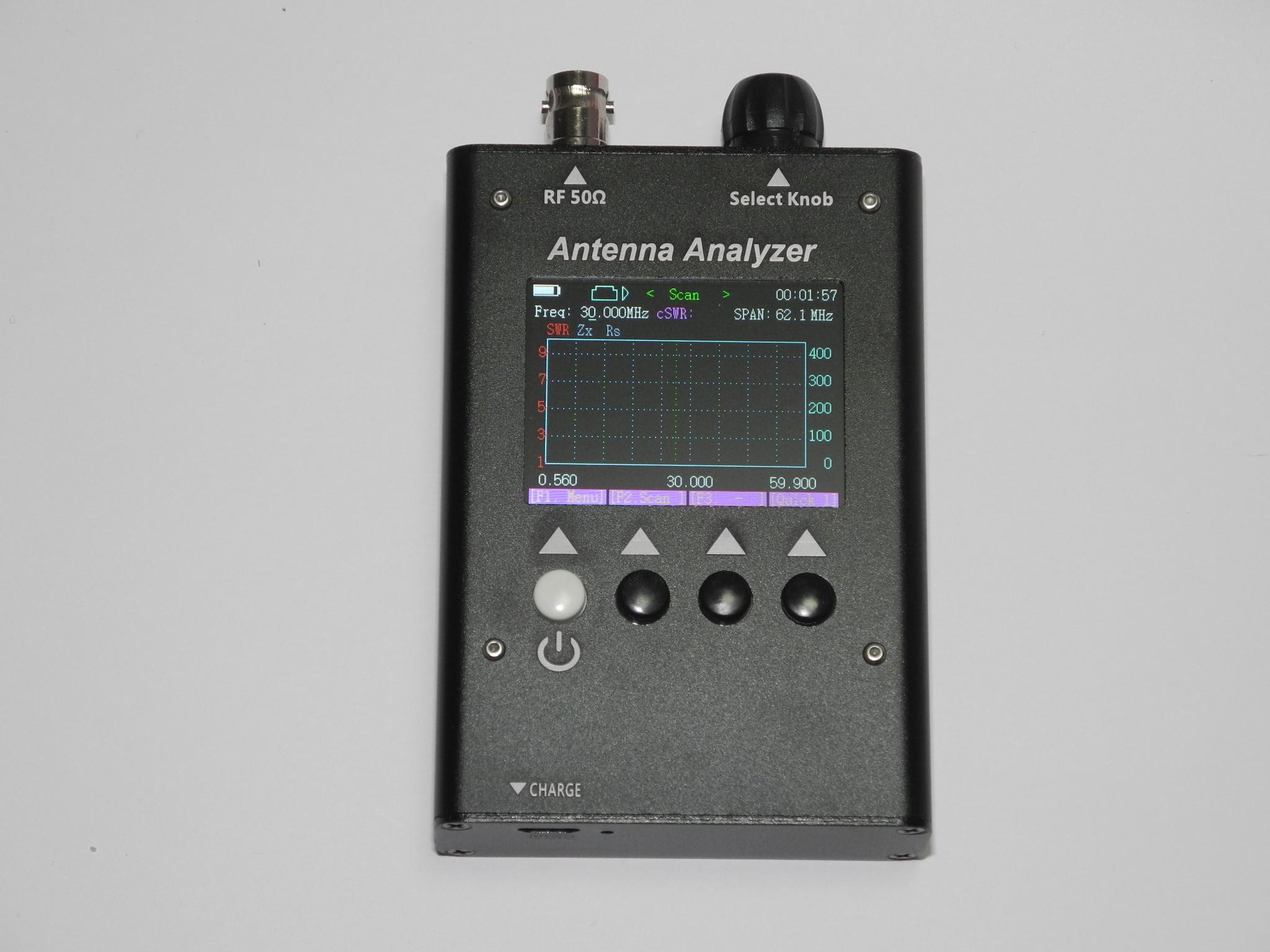 グラフィックアンテナアナライザーHF〜6mバンド用SA-160◆送料無料
