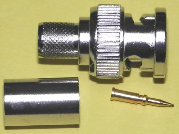 100個パックBNC5C-2V用圧着コネクター