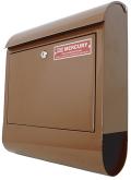 マーキュリー MCR Mail Box 郵便ポスト ブラウン