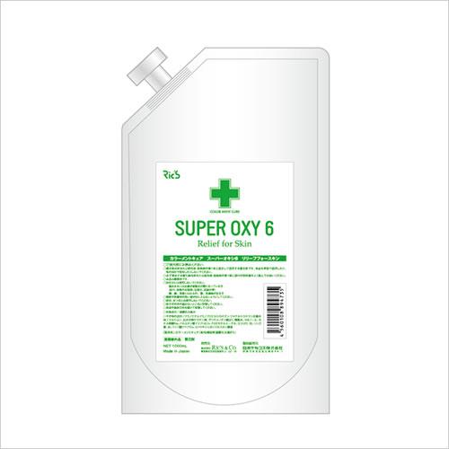 リックス カラーメントキュア スーパーオキシ6 1000ml