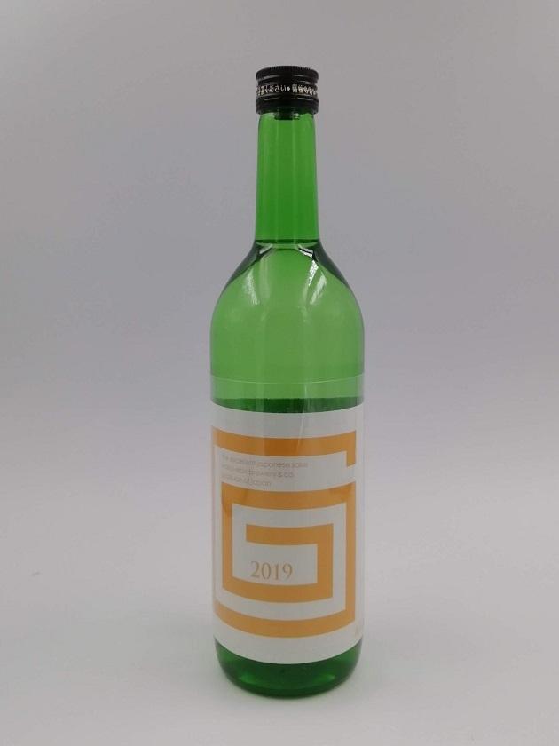 G-collection 純米吟醸 生原酒 2019 ORANGE 720ml