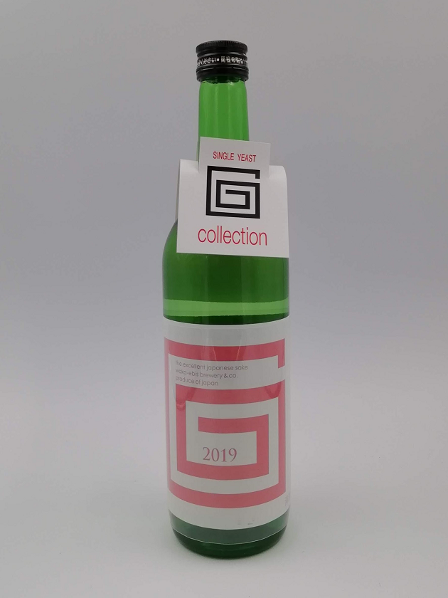 G-collection 純米吟醸 生原酒 2019 PINK 720ml