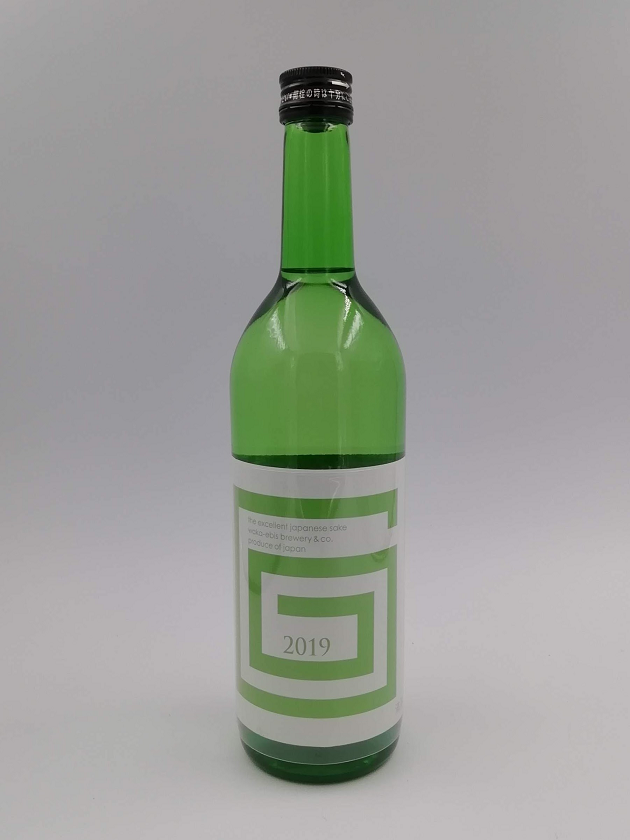 G-collection 純米吟醸 生原酒 2019 GREEN 720ml
