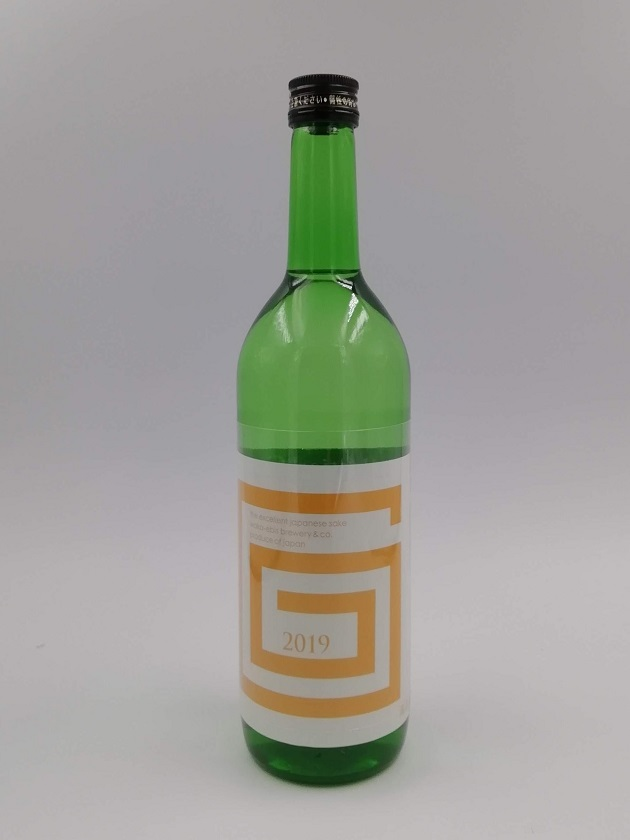 G-collection 純米吟醸 生原酒 2019 ORANGE 720ml