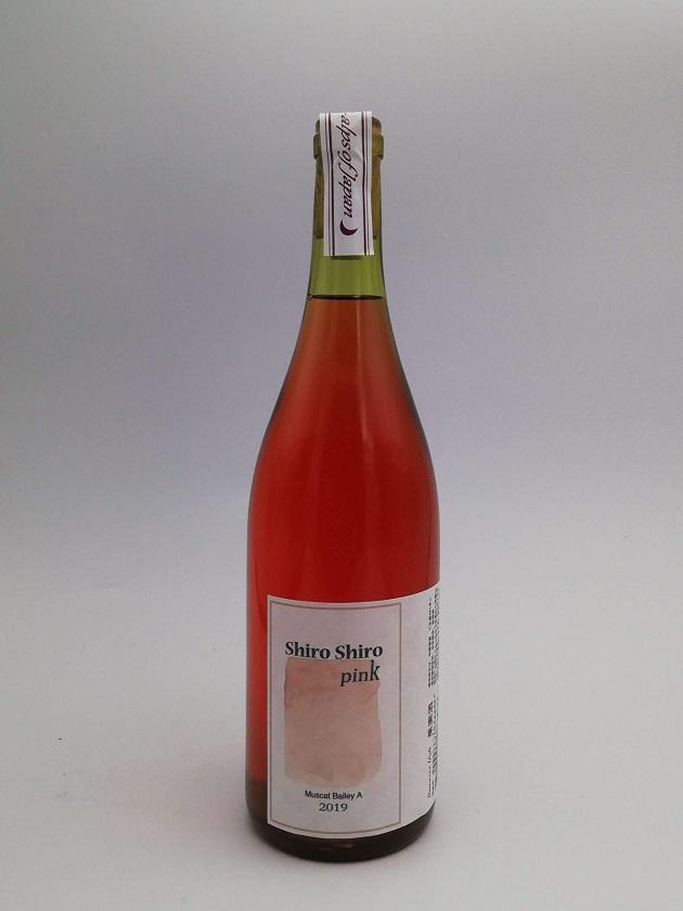 ドメーヌヒデ しろしろPINK  shiro shiro pink 2019 <生産481本>