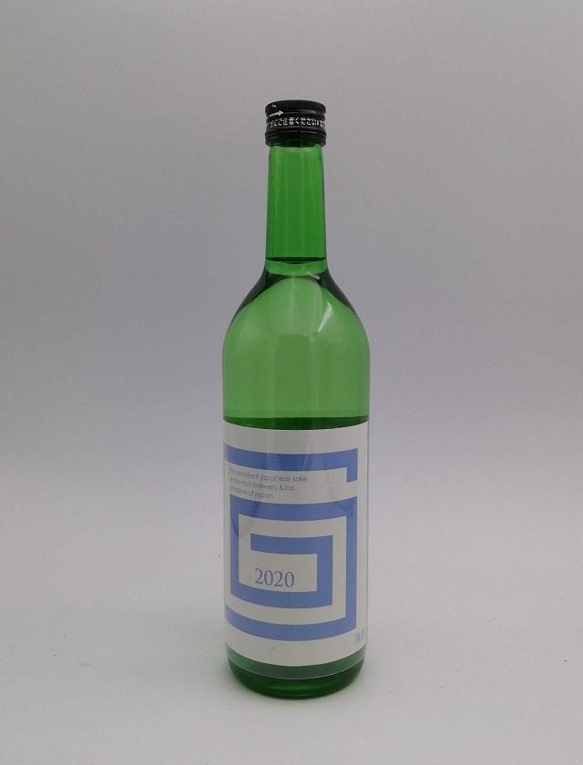 G-collection 純米吟醸 生原酒 2020 blue720ml