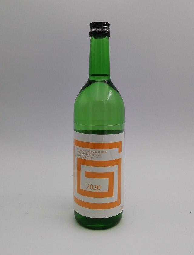 G-collection 純米吟醸 生原酒 2020 ORANGE 720ml