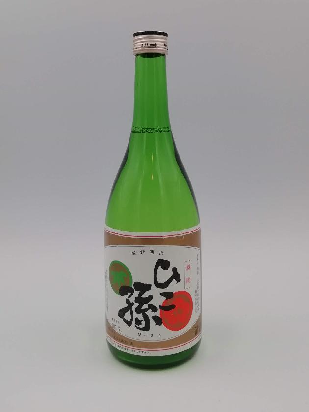 神亀酒造 ひこ孫純米清酒720ml〈常温熟成期間3年以上〉