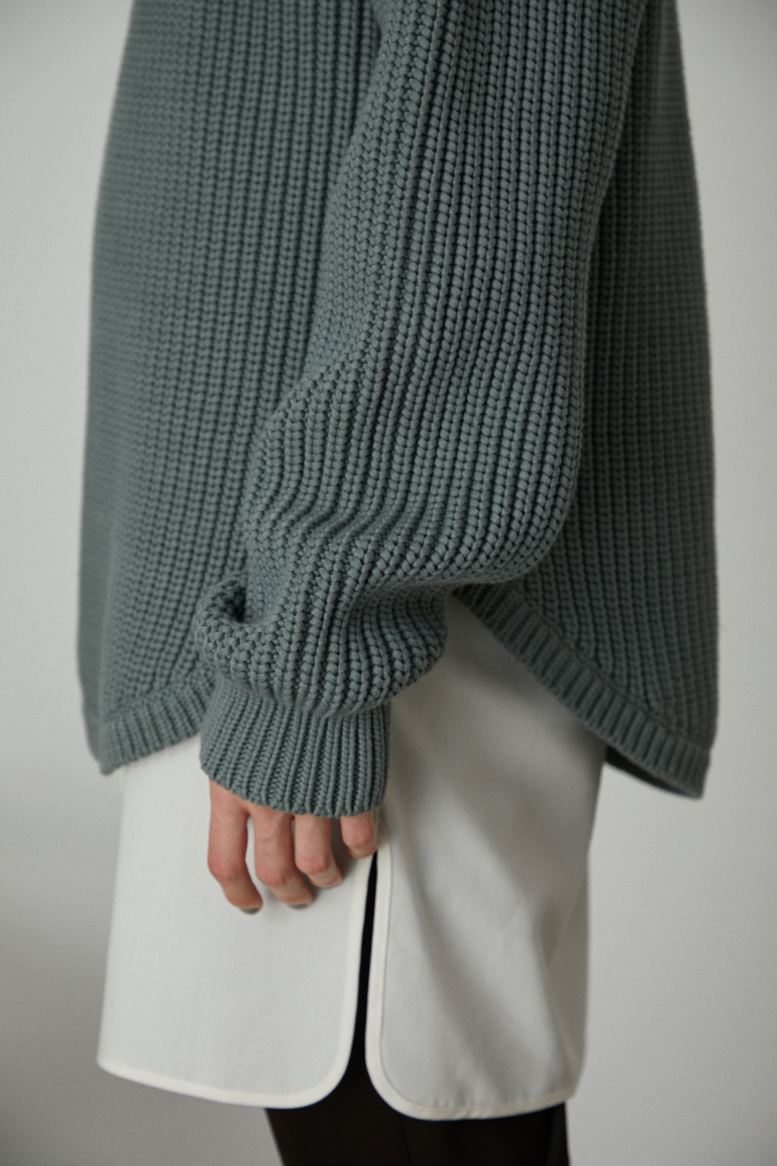 Docking knit tops
