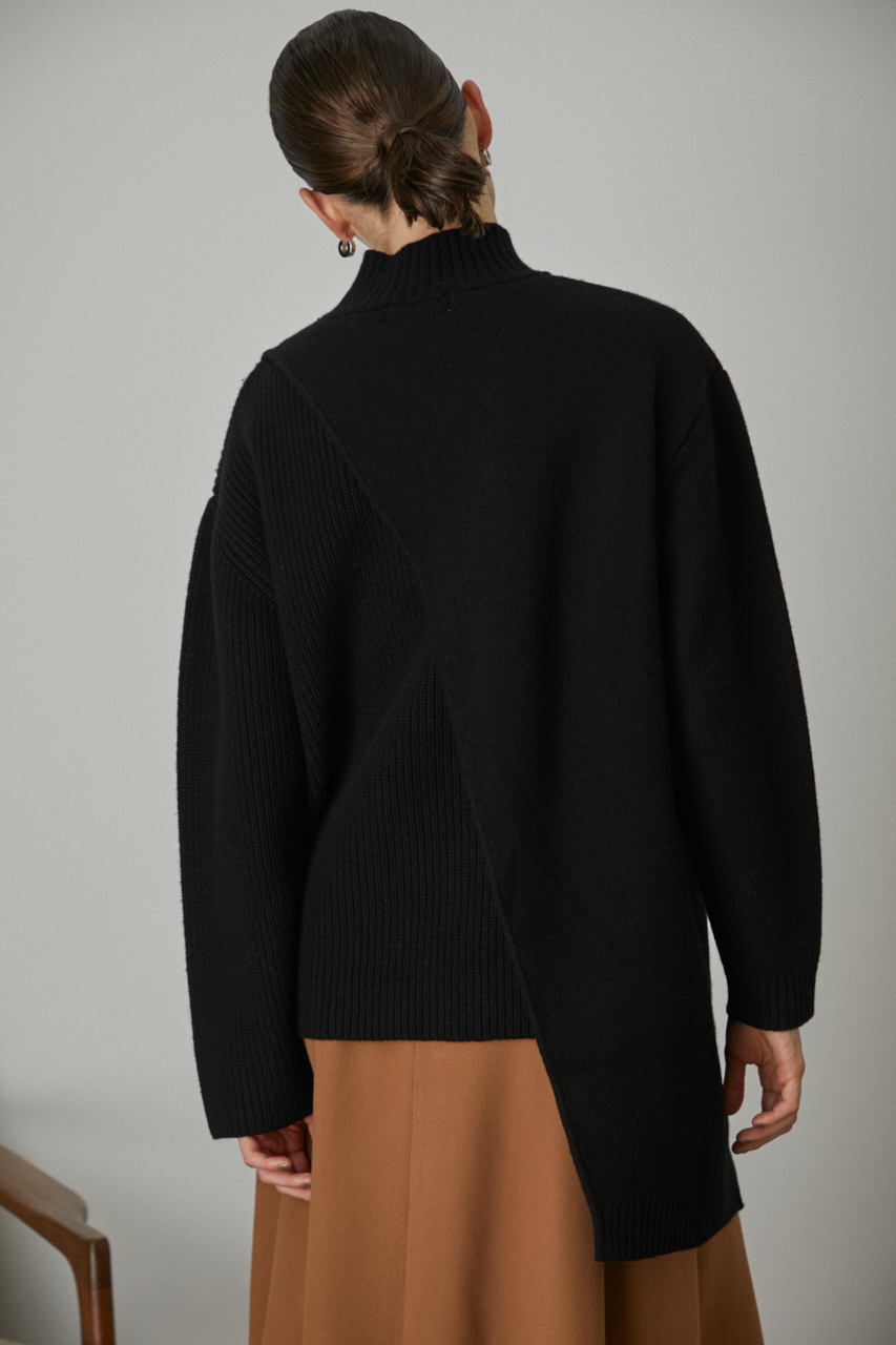 Different knit long tops