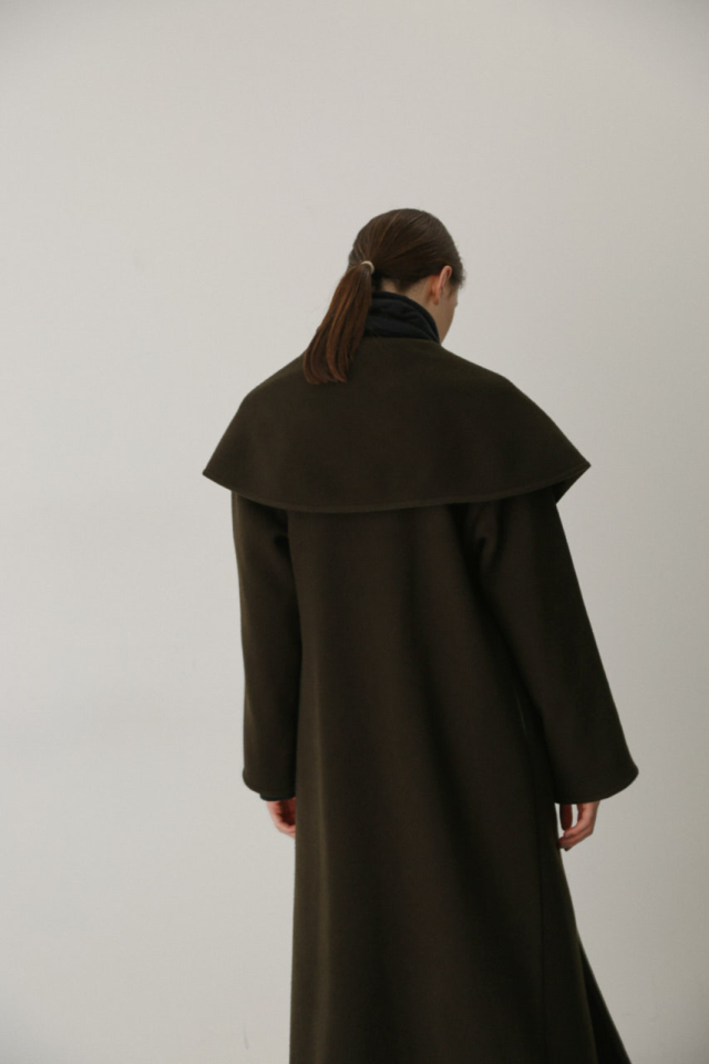 Noble maxi wool coat