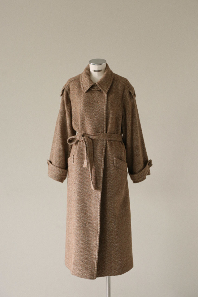 Over size maxi coat