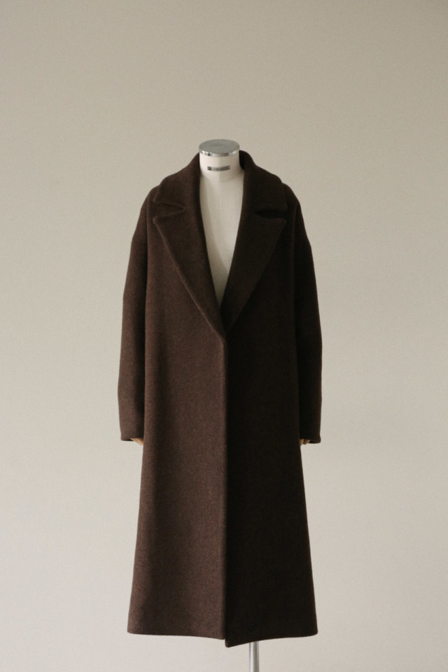 9/18- order start 19FW Relax loose gown coat