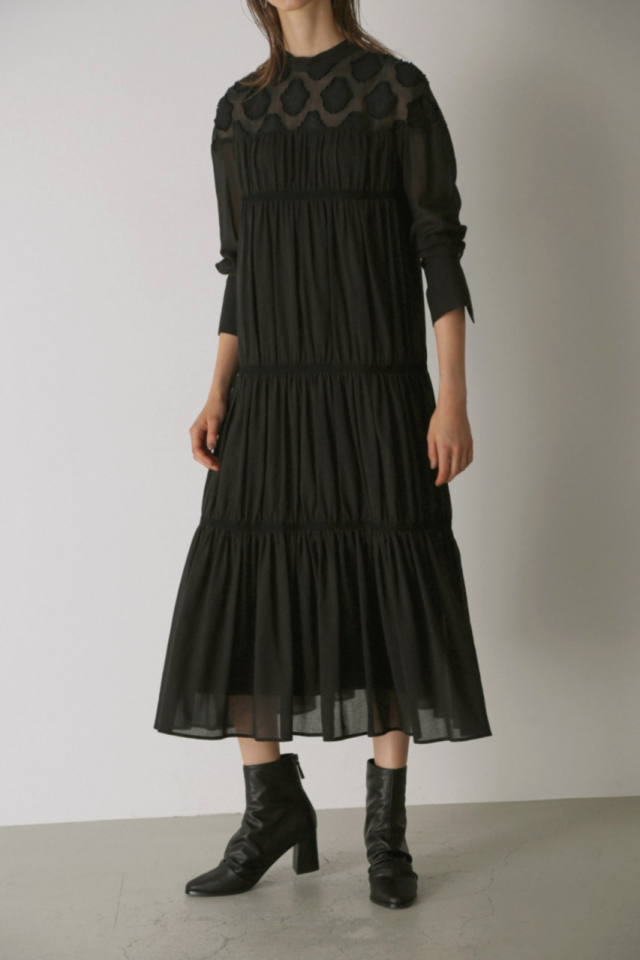 Hicks jacquard dress