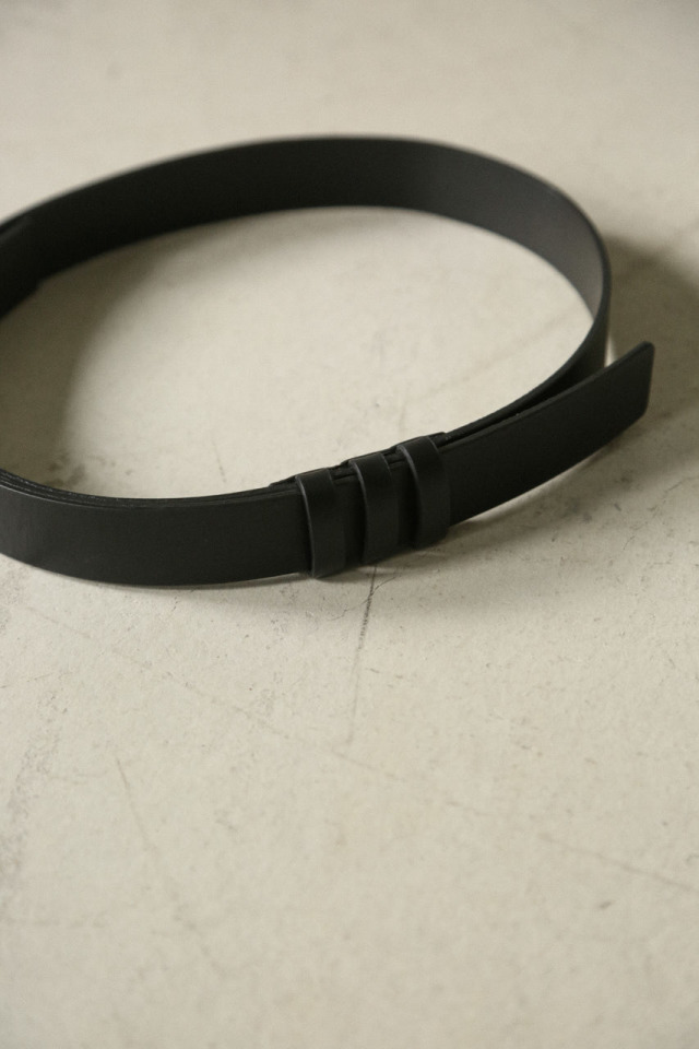 9/18- order start Minimum leather belt