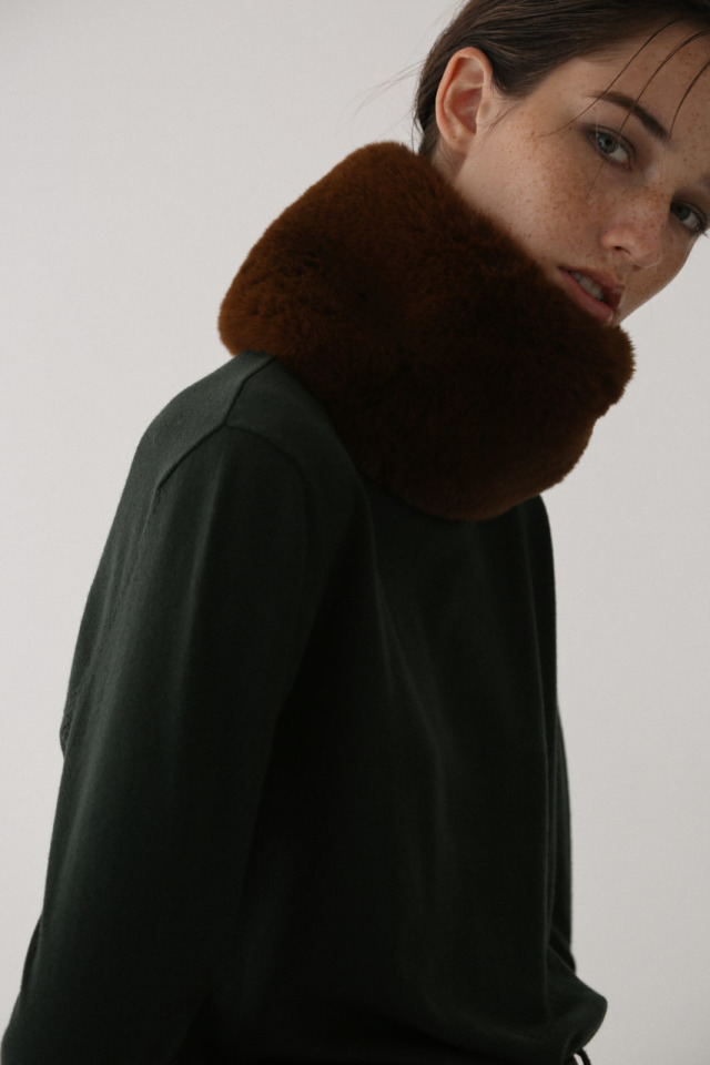 Eco fur neckwarm