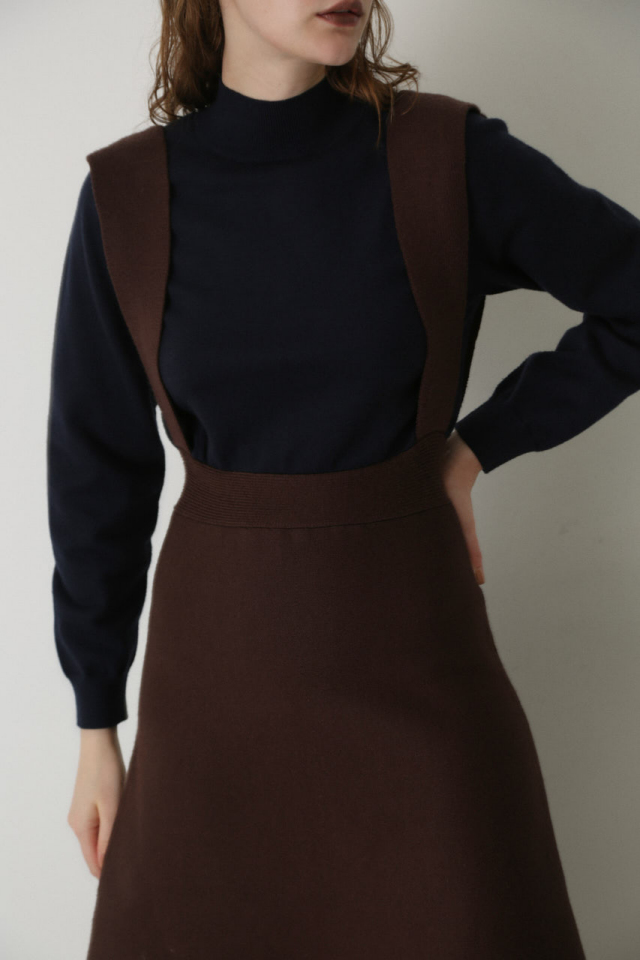 Jumper skirt knit OP