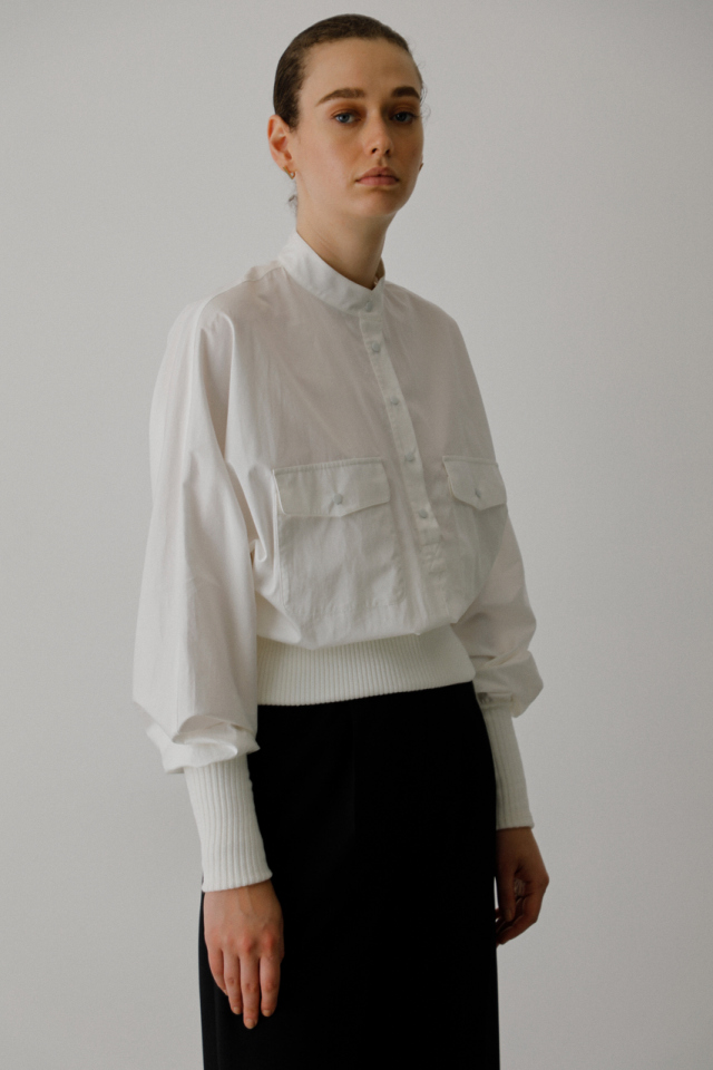 Heavy cotton rib tops