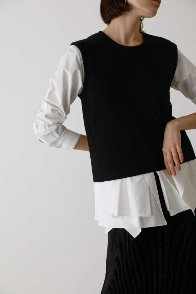 Docking vest like tops