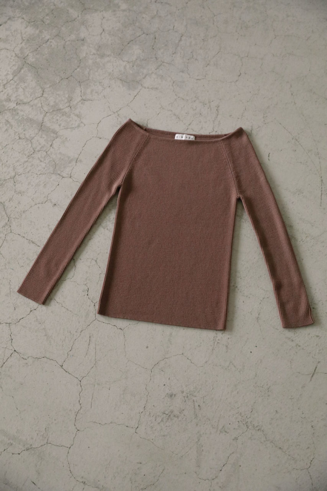 Boatneck basic knit