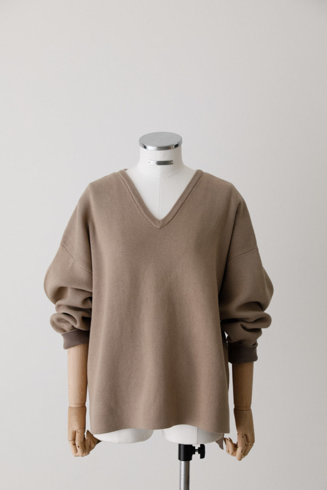 Relax loose knit tops