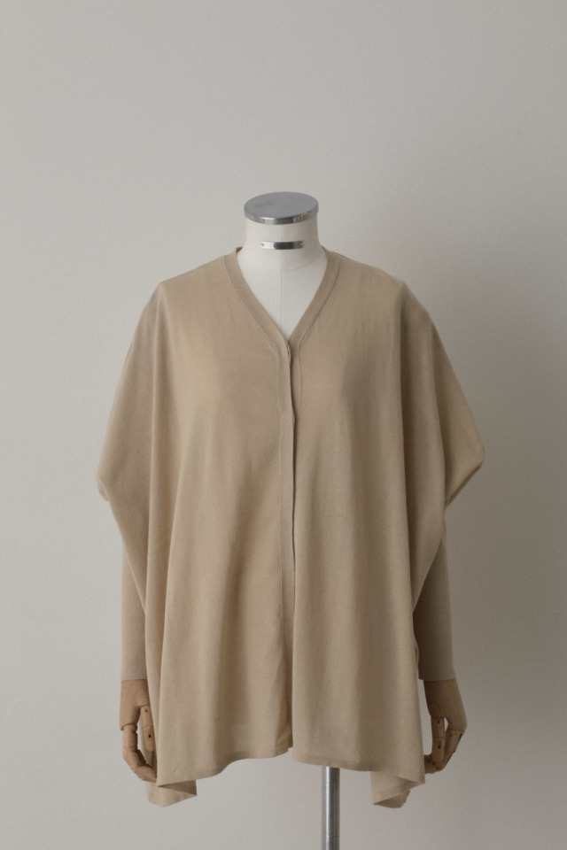 Wide relax knit cardigan