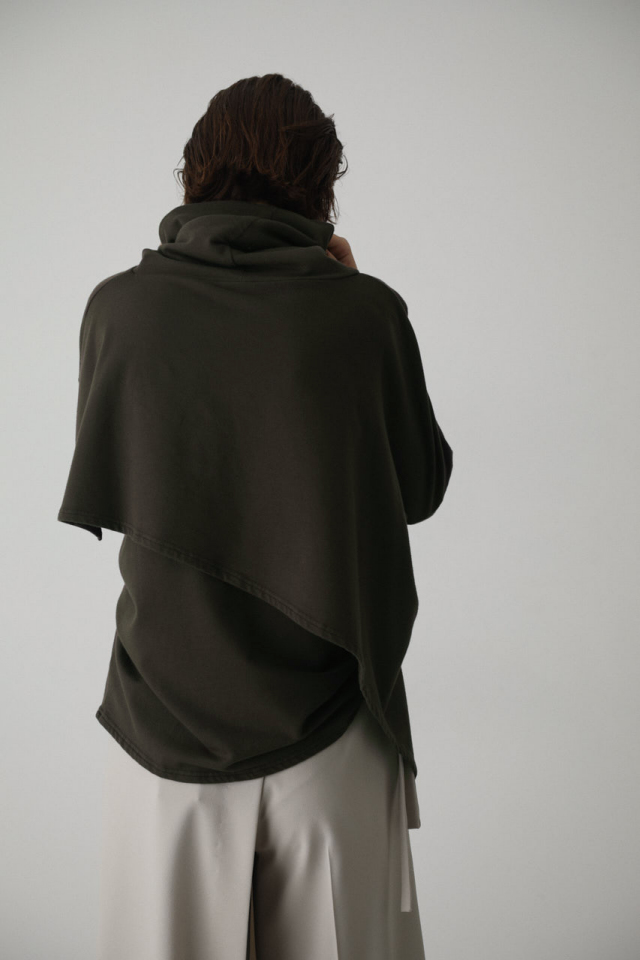 Layered asymmetry tops