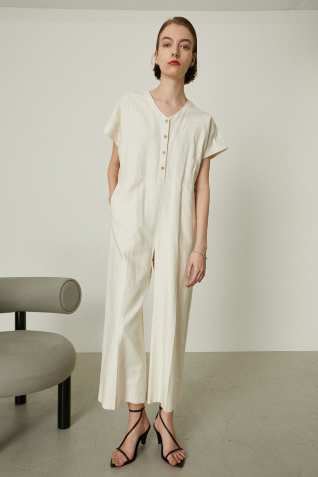 Cotton linen all in one