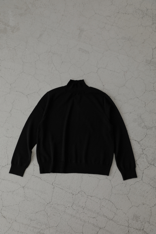 Basic wool knit tops