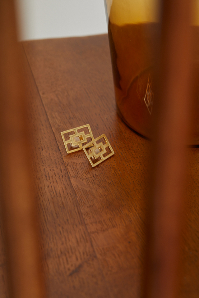4/21 order start Cufflinks earring