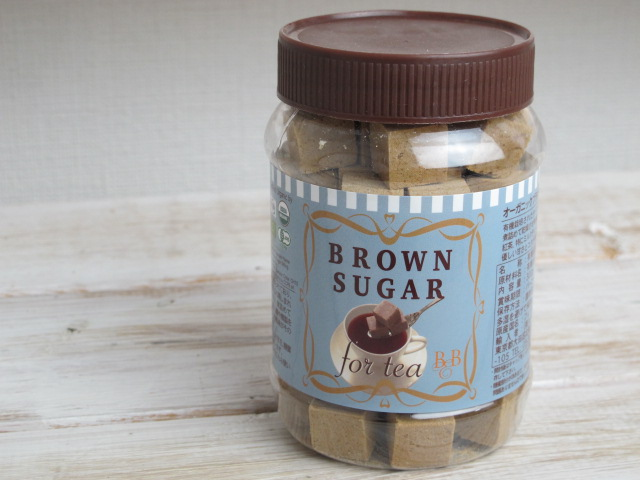 ◆ミルクティー用 オーガニックのブラウンシュガー