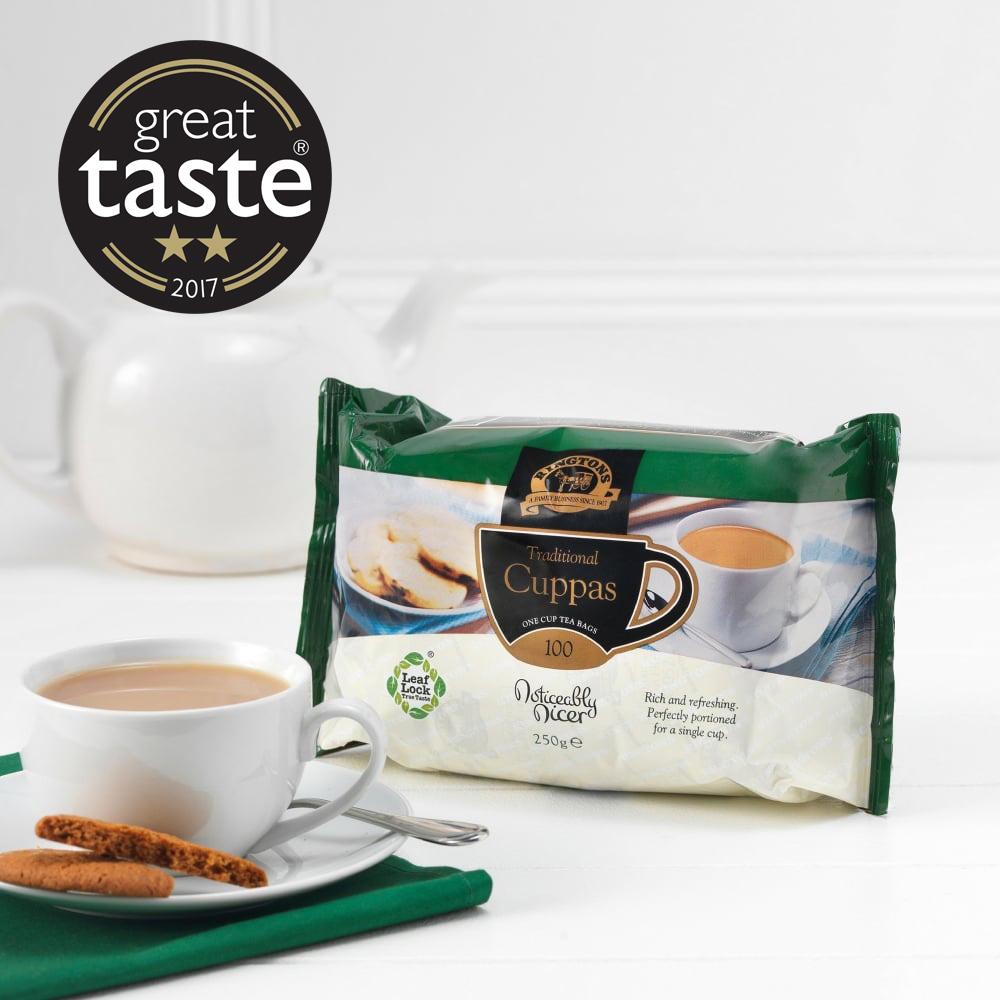 ■英国紅茶 リントンズ 【CUPPAS カッパス】 100包100杯分 250g