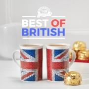 ◆英国紅茶 リントンズ ブレックファスト100包&マグカップ2個 【ユニオンジャックセット】