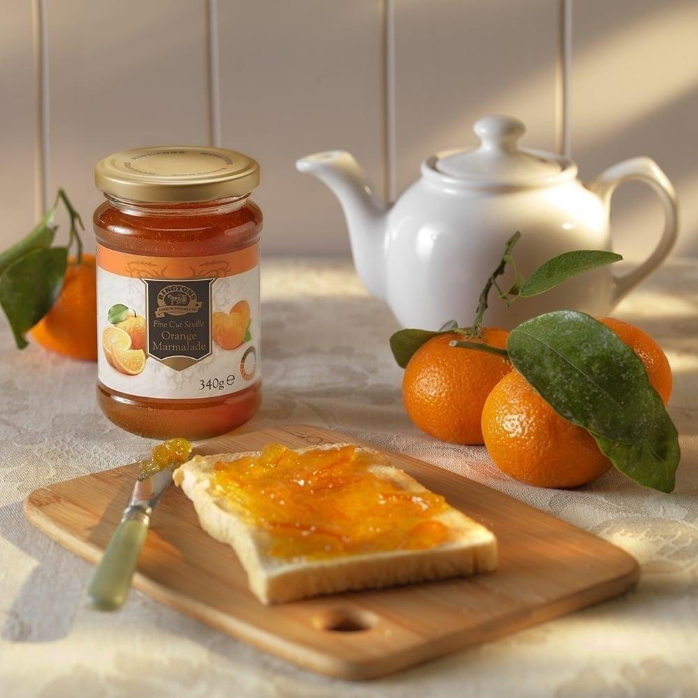 ◆英国紅茶 Ringtons リントンズ 【ファインカット・セヴィルオレンジ・マーマレード 340g】