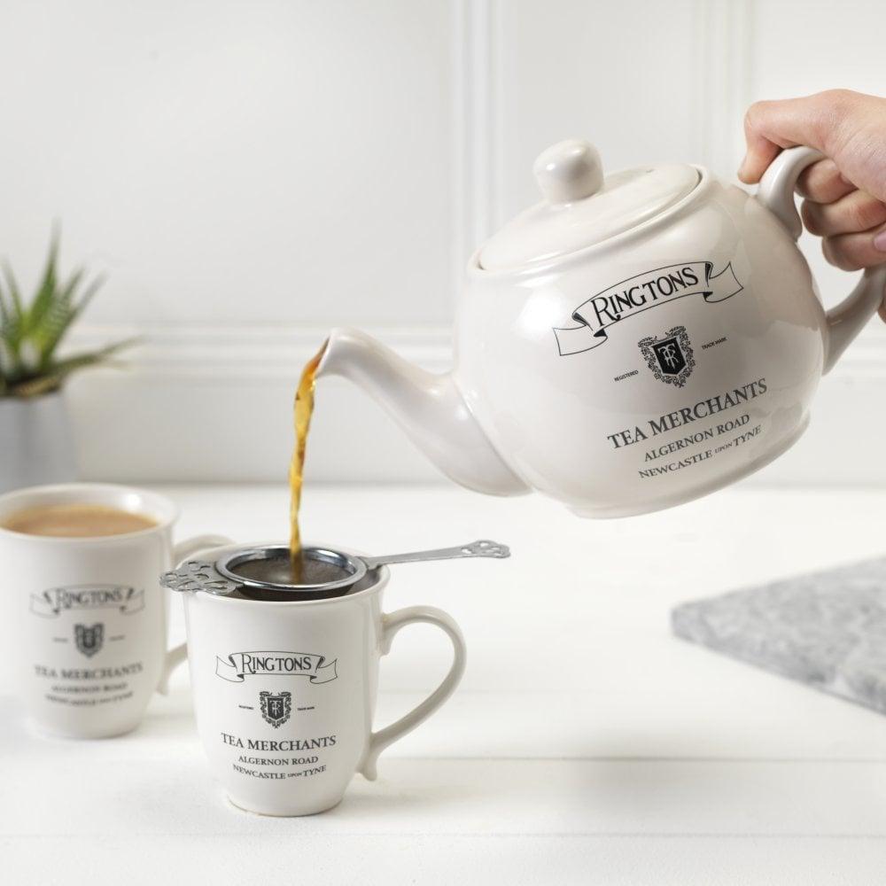 ◆英国紅茶 Ringtons リントンズ 【Everyday Teapot エブリデイティーポット】
