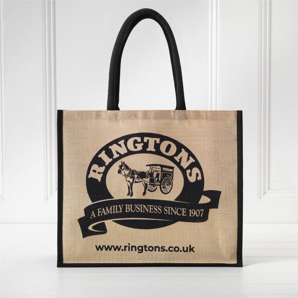 ◆英国紅茶 リントンズ 【オリジナル ジュートバッグ】