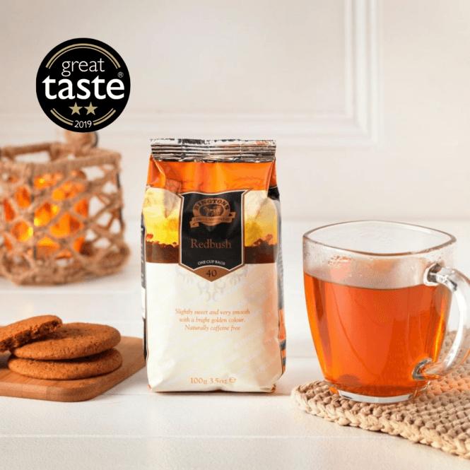 ■英国紅茶 リントンズ 【REDBUSH TEA レッドブッシュ(ルイボスティー)】 40包40杯分 100g