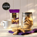 ■英国紅茶 Ringtons リントンズ【紅茶商が紅茶に合うレシピで作った サルタナクッキー】250g