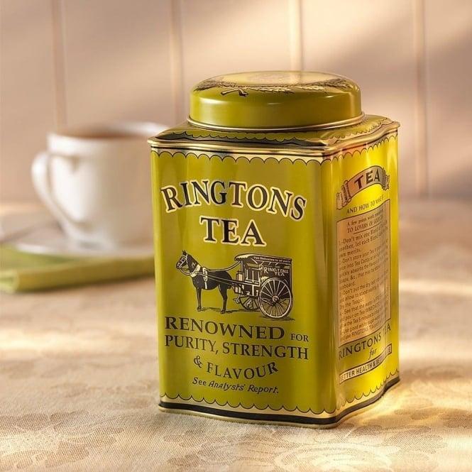◆英国紅茶 リントンズ GOLD ゴールド50包入り  【トラディショナルキャディー】
