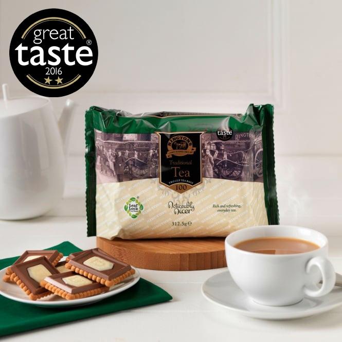 ■英国紅茶 リントンズ 【TRADITIONAL トラディショナル】 100包200杯分300g