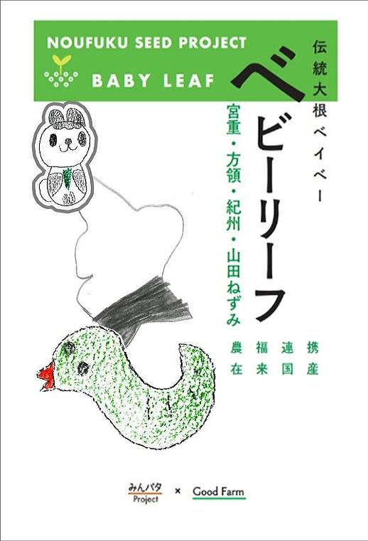 みんパタプロジェクト【大根ベイビー ベビーリーフ】
