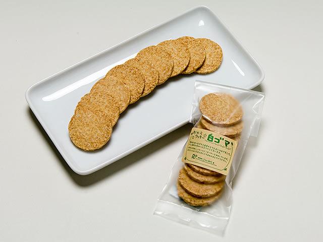 おからクッキー(白ゴマ)