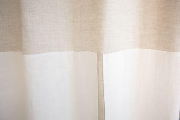 ダブルカラー ストレートトップ&逆箱ひだカーテン