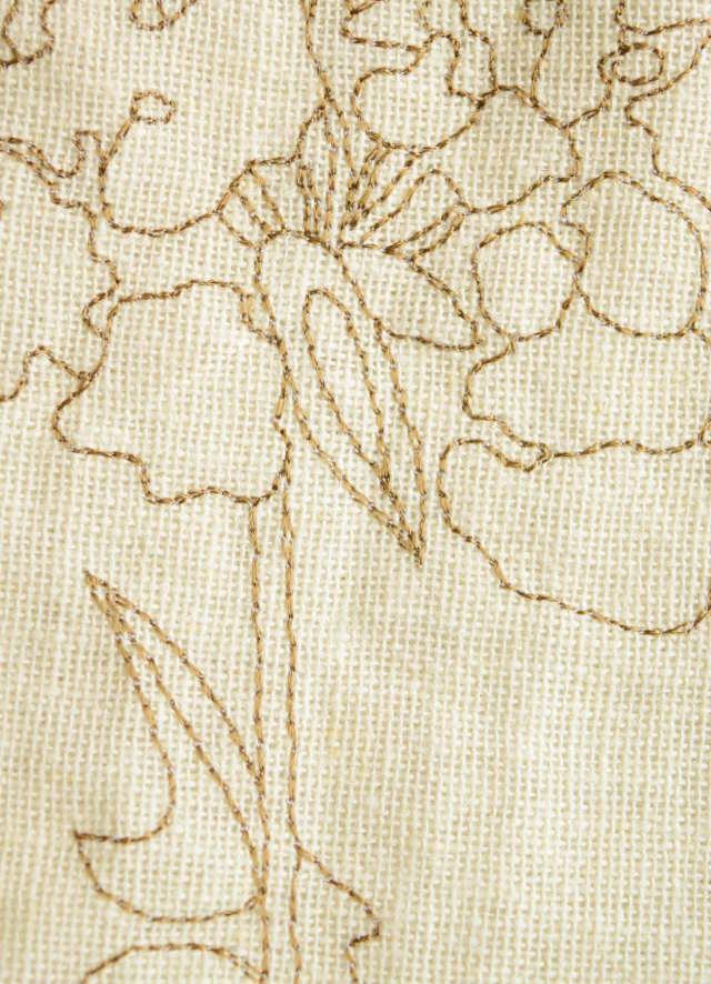 刺繍カーテン オルタンシア④