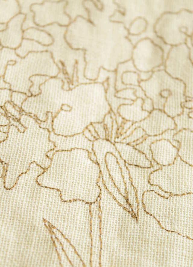 刺繍カーテン オルタンシア⑦
