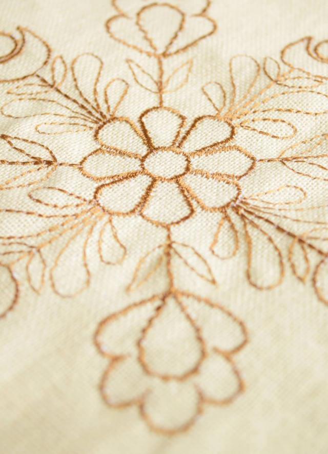 繍カーテン ウエディングブーケ⑨