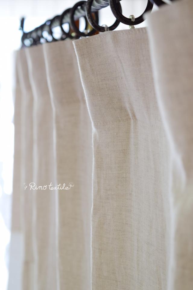 アイアンレールに合うカーテン