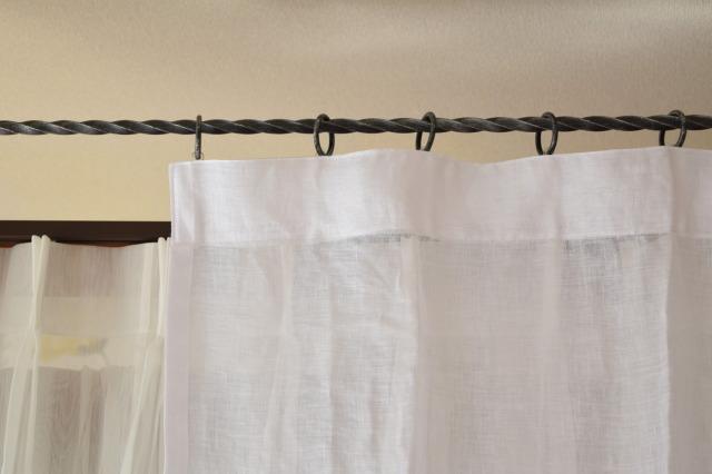 オシャレカーテン スペイン産ホワイト