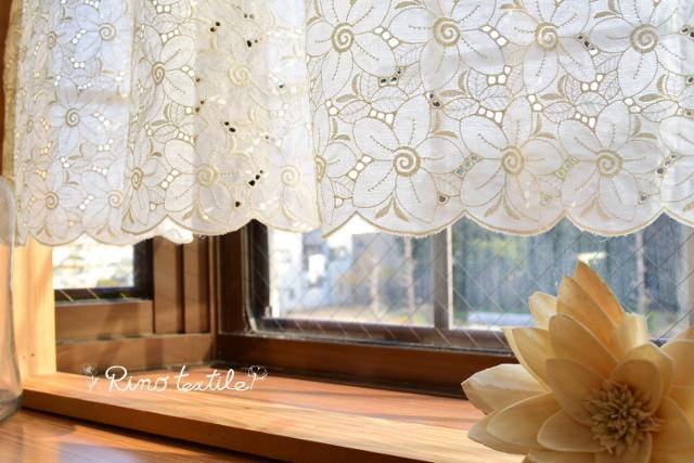小窓用カフェカーテン